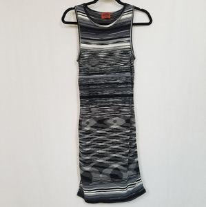 Missoni Orange Label Sleeveless Knit Dress